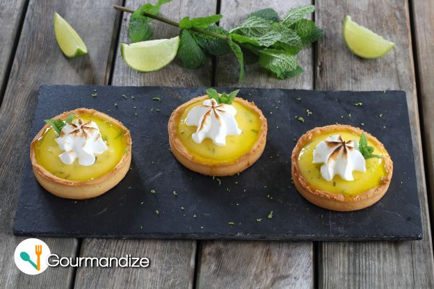 Mojito-Flavored Mini Tarts
