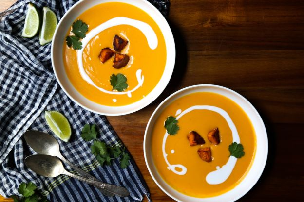 Sweet Potato Tom Kha