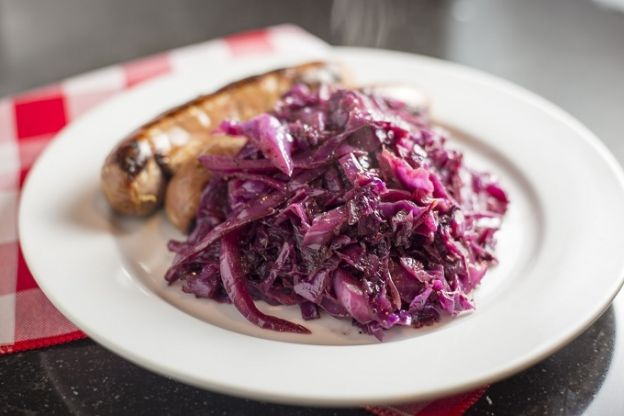 Braised Sweet Cabbage