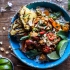 Sweet Thai Chili Peanut chicken ANd Grilled Pineapple Stir Fry