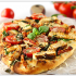 Chicken Florentine flatbread pizza