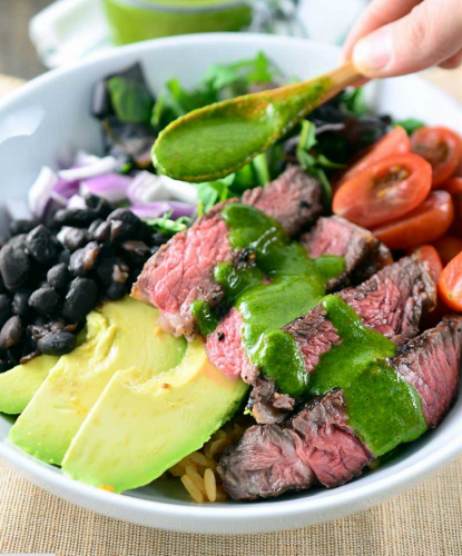 Chimichurri Steak Bowl