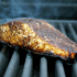 Coffee Rubbed Grilled Salmon