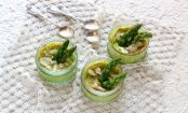 How to make mini asparagus and Parmesan flans