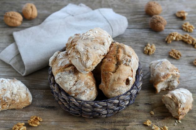 Nutty No-Knead Bread Rolls