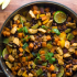 Chili Lime Sweet Potato And CHicken Skillet