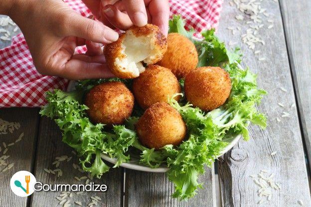 Addicting Recipe Deep Fried Mozzarella Risotto Balls