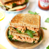 Healthy Buffalo Chicken Sandwiches
