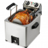 Deep fryer for a whole chicken