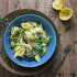 Lemon Garlic Sour Cream Pasta