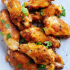 Mango Jerk Chicken Wings