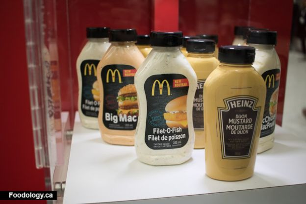 McDonald's sauces now available for sale in Canada