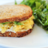 Scrambled Egg and Avocado Breakfast Sandwich