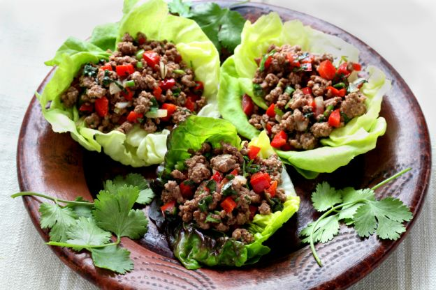 Thai Beef Lettuce Cups