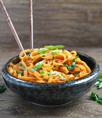 Coconut Curry Linguine