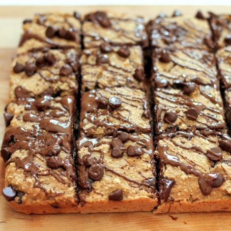 Banana Bread Chocolate Chip Oat Breakfast Bars