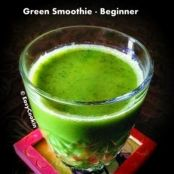 Green Smoothie - For Beginner - No Pulp (Blended)