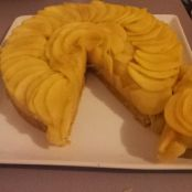 Apple and breton biscuits tart #Tarte aux pommes et biscuits bretons - Step 4