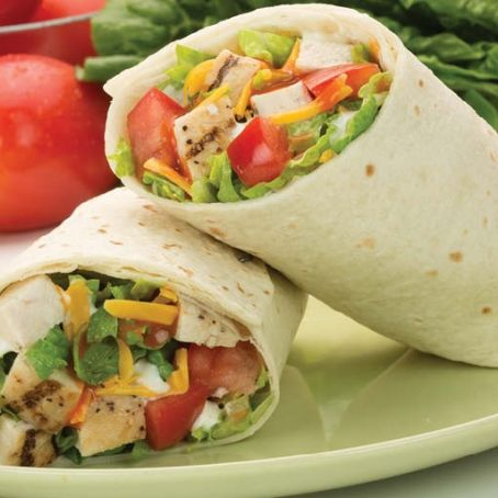 Easy Buffalo Chicken Wrap