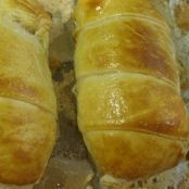 Chicken fillet in puff pastry