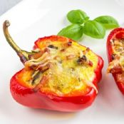 Crab Stuffed Pepper Appetizers