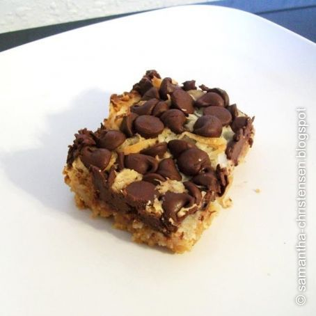 Magic Cookie Bars with Coconut