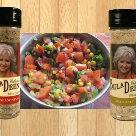 Paula'S House Seasoning, Paula'S Silly Salt & Paula'S Corny Salsa