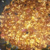 Chorizo & Eggs - Step 7