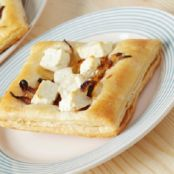 Filo Pastry Parcels with Scallops and Feta