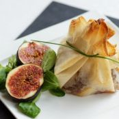 Filo Pastry Parcels with Scallops