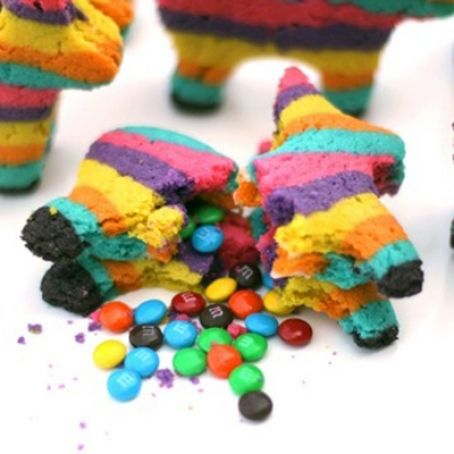 Piñata Sugar Cookies