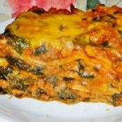Spicy Beef & Spinach Lasagna