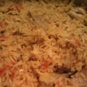 Chicken Briyani with Yogurt Raita