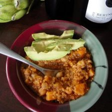 Quinoa Sweet Potato Chili