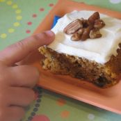Pilgrim Pumpkin Bars