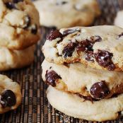 Dark Chocolate Chip Peanut Butter Cookies