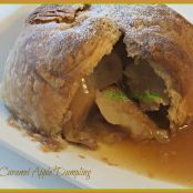 Caramel Apple Dumpling