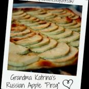 Grandma Katrina's Russian Apple Pirog