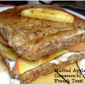 Stuffed Apple Cinnamon'N Cream French Toast