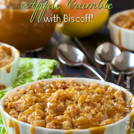 World's Easiest Apple Crumble