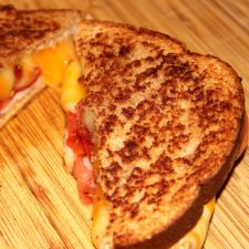 Bacon & Tomato Grilled Cheese Sandwich