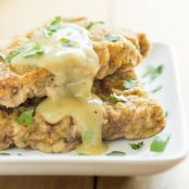 Baked Chicken Fried Steak