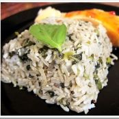 Basil & Olive Oil Rice