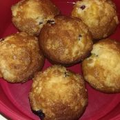 BANGING BLUEBERRY MUFFINS