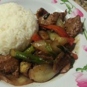 Beef and Asparagus Stir Fried