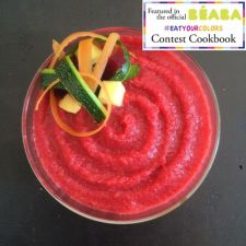 Beet, Carrots , Potatoes , Zucchini and Chicken Purée (9 months +)