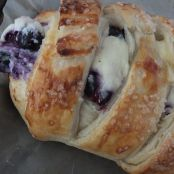 Blueberry Ricotta Strudel