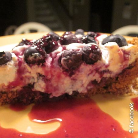Blueberry Cream Cheesecake