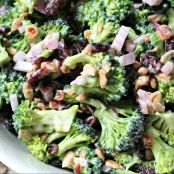 Broccoli Bacon Cheese Salad