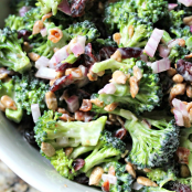 Mozzarella Bacon Brocoli Salad